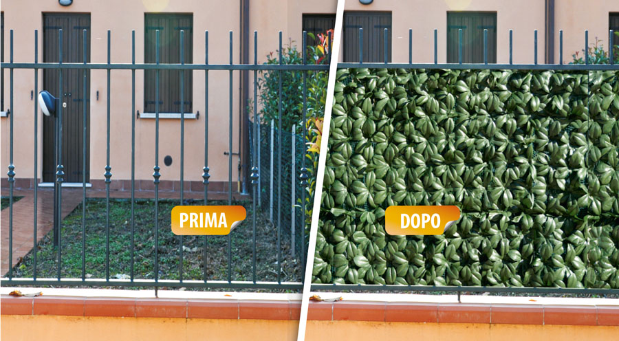 pittura esterno casa siepe artificiale per balconi On siepe artificiale per balconi